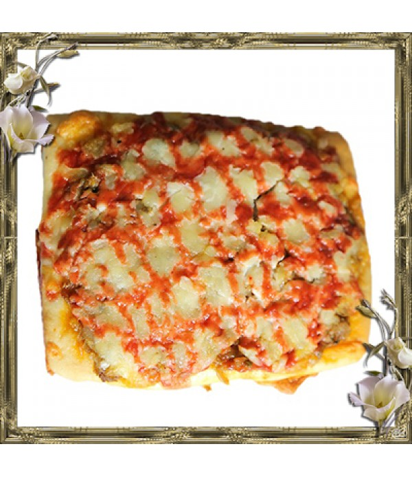 Chicken Pizza square